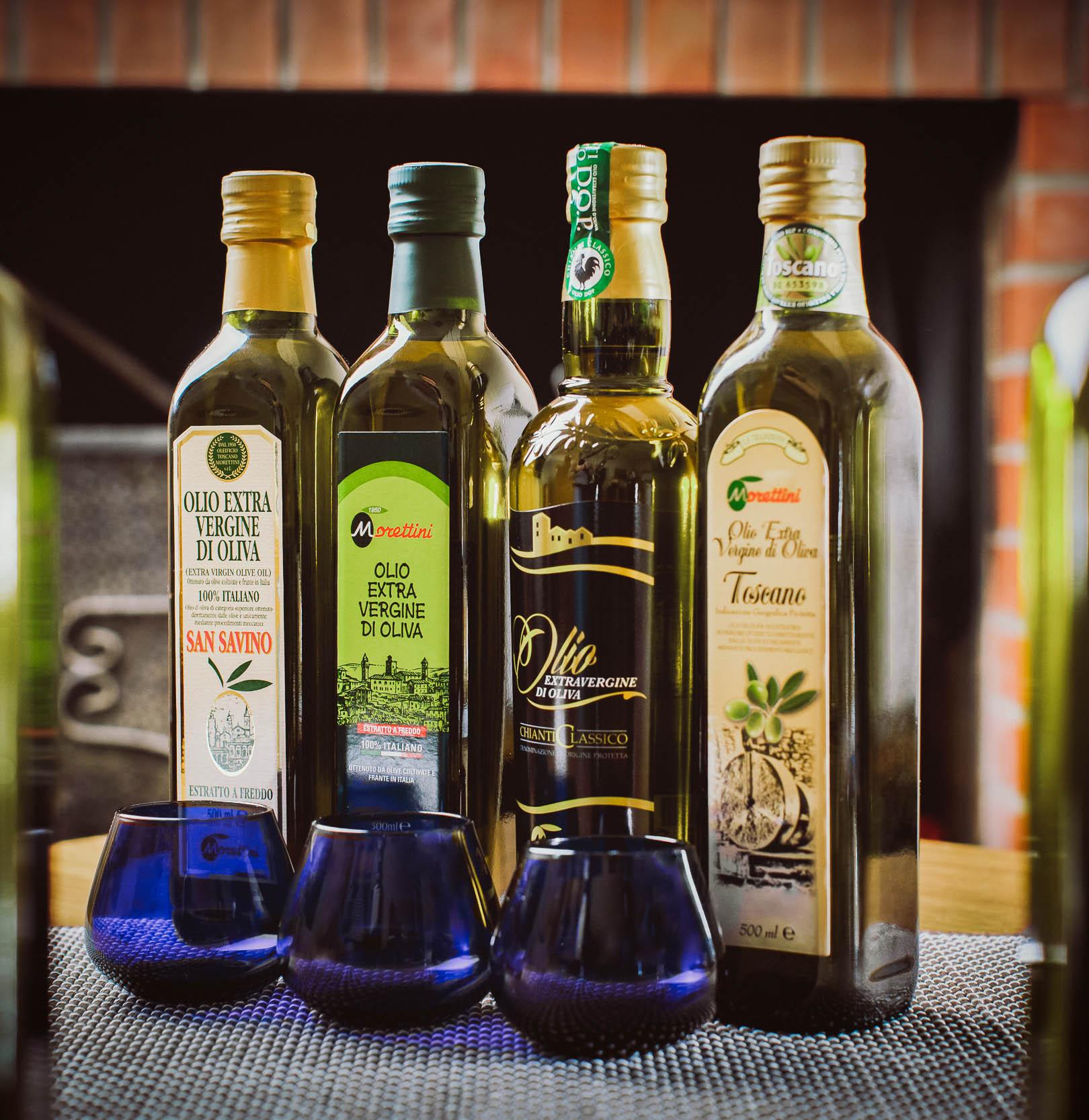 Prodotti Morettini oleificio toscano